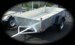 Excalibur Trailers - 4 X 8 Utility box trailer - galvanized or painted