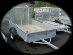 Excalibur - 5 X 8 Utility box trailer - galvanized or painted